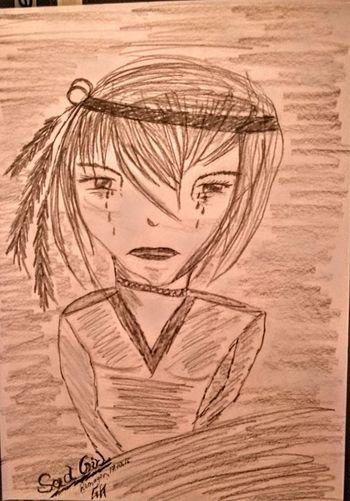 "Today is Day of drawing....a new Manga Girl....""Sad Girl""....enjoy... Check This Out Relaxing Art, Drawing, Creativity Enjoying Life Creativity Pivotal Ideas Drawing Originalpicture Individual Picture Manga Mangagirl Sadness My Drawing"