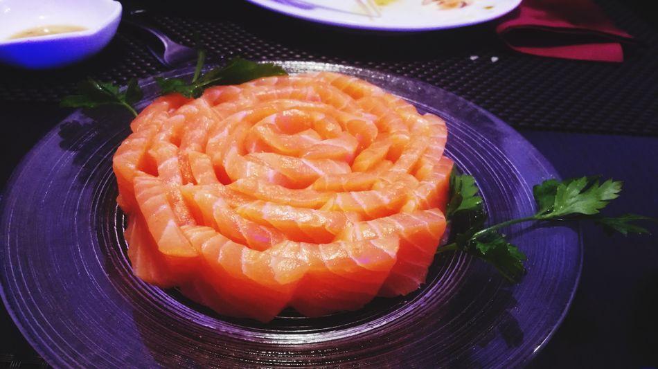 Salmone Salmon Sushi Giappofood Giapponese Ristorante Freshness