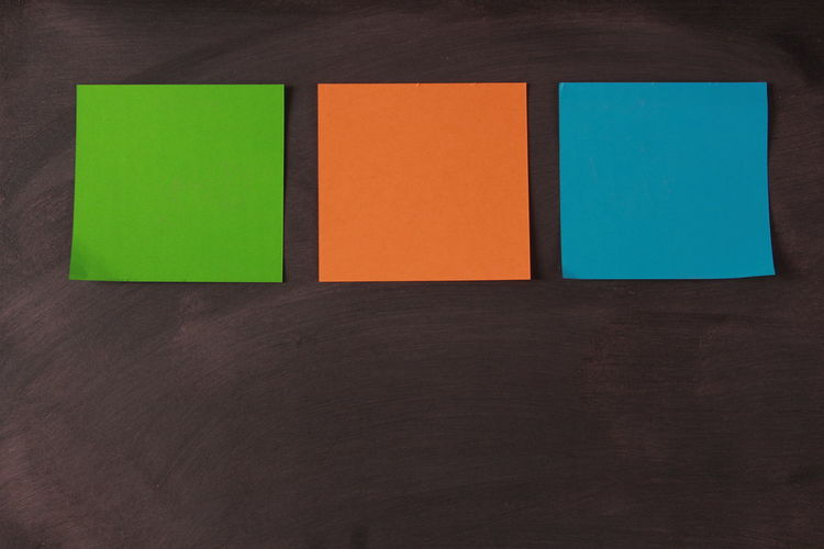 Close-up Day Indoors  Multi Colored No People Notepaper Office Reminder