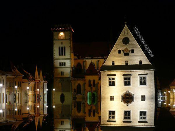 mirror town square EyeEm Best Edits Bardejov Architecture Night