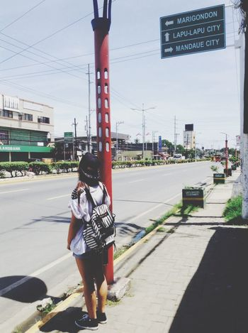 Waiting for a taxi ?? Cool Ootd Swag Beauty