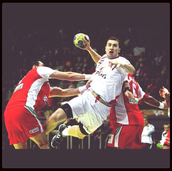 Handbal Player Sport Love #poland