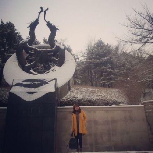 용두리 Dragon Kookmin University Winter korea