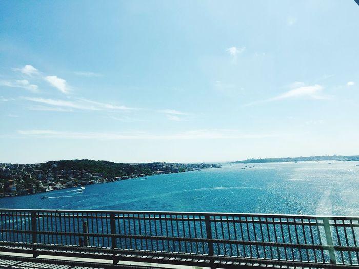 Istanbul Turkey Boğaziçi Bridge