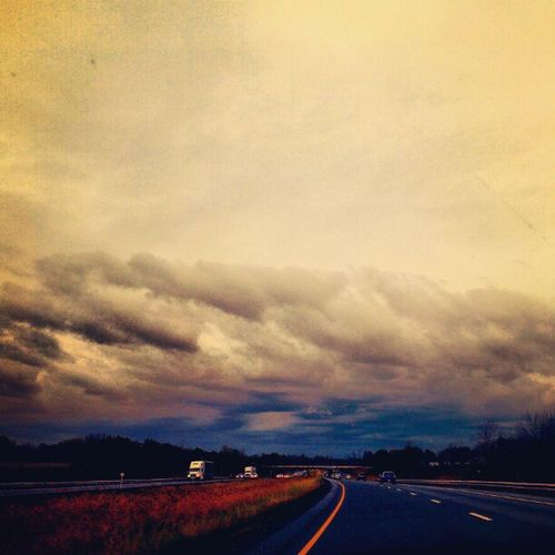 sandy IGDaily HamOnt Sandy Hwy Sadny Clouds Nature Sky Trees Storm Skyscape Hurricane Photooftheday