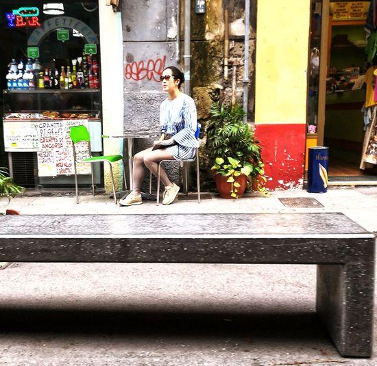 Young Women Full Length Sitting Beautiful People Beautiful Woman Men Women Handsome Doorway Beauty