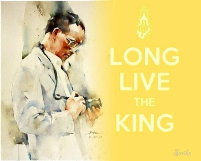 The KING Of Thailand Long Live The King Bhumibol Of Thailand Father's Day ทรงพระเจริญ
