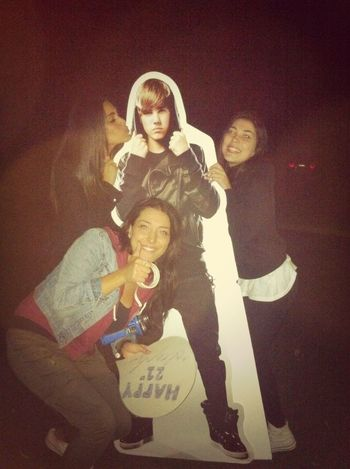 Sneaky late night antics with biebs!!!!