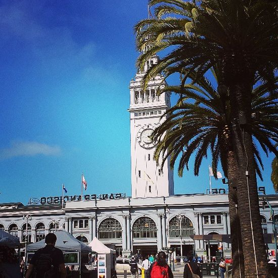 Ferry Building in Sanfranscisco great Truffle shop in there Recchiuti love that place