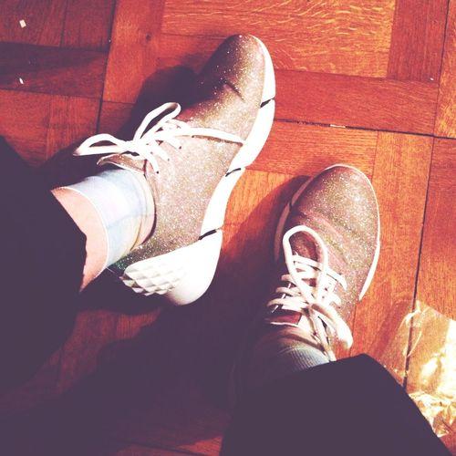 shine bright Bea Novelli Shiny Shoes