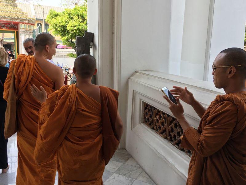 Bangkok Series - A Gen Y monks! Thailand TripAdvisor Travelgram Bangkok Watarunbangkok People Monk