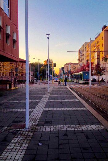 Straight outta Bicocca Milano University Sunset Tram