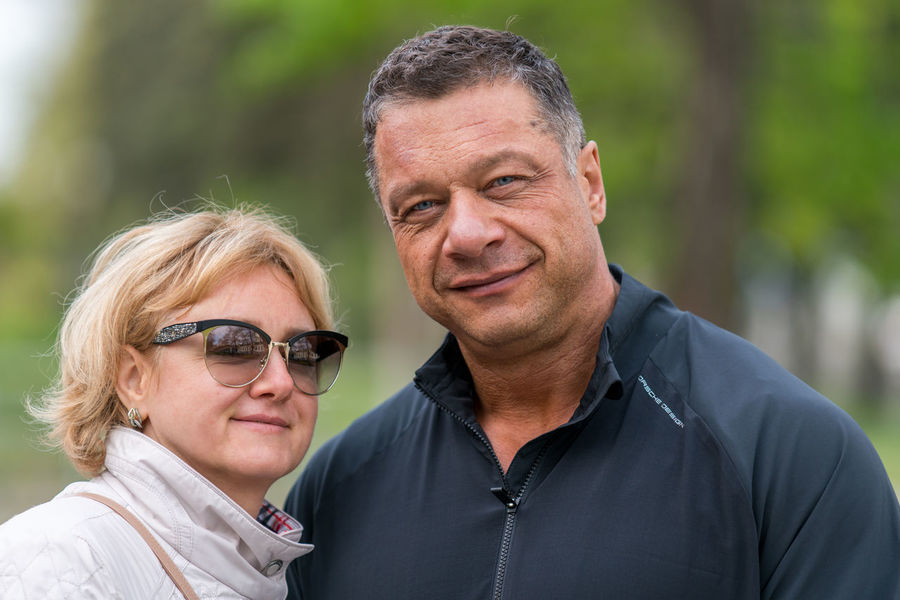 Bonding Casual Clothing Couple - Relationship Day Happiness Headshot Lifestyles Looking At Camera Love Mature Adult Mature Couple Mature Men Mature Women Men Outdoors People Portrait Real People Senior Adult Senior Couple Senior Men Smiling Togetherness Two People