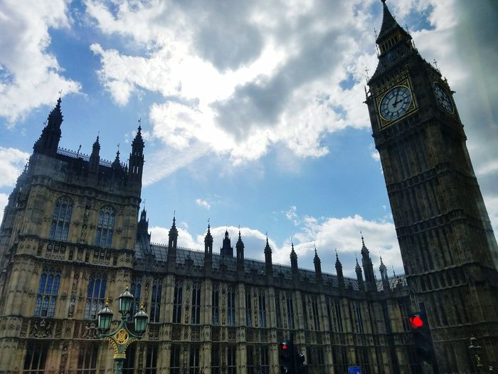 Architecture Government Travel Destinations Politics And Government Gothic Style Clock Tower Cloud - Sky Built Structure Low Angle View Building Exterior Sky Outdoors Day Politics No People Big Ben, London London