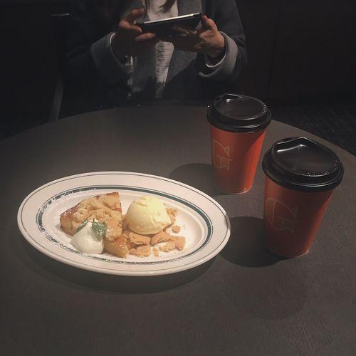 Enjoying A Meal Coffee Time Food Porn OSAKA デザート ☕️