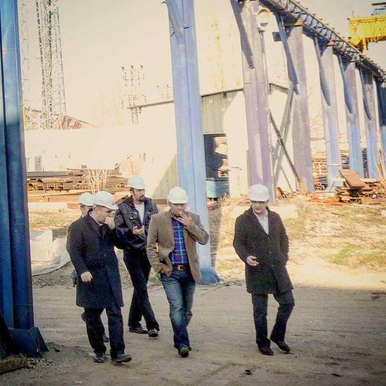 Team Teamwork Engineering Engineeringlife Construction SteelStructure FactoryVisit Ankara Turkey
