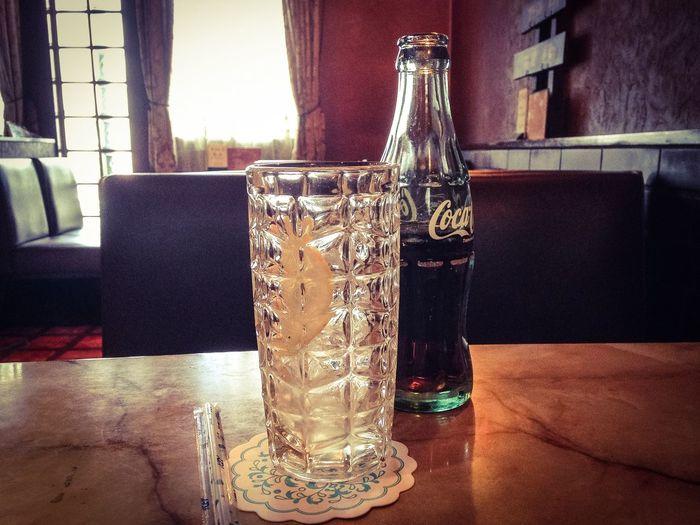 Cafe Cocacola Coke Glasses Oldfashioned