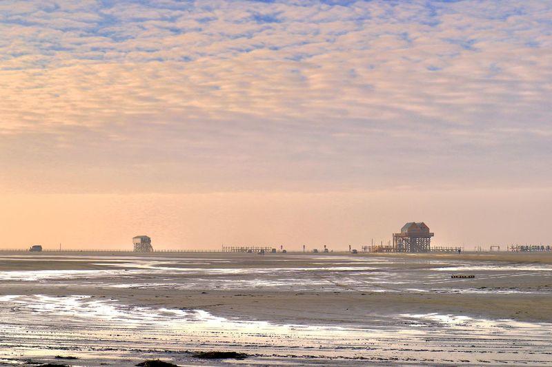 Sky Water Sea Sunset Land Scenics - Nature Beach