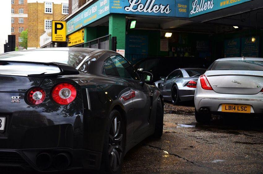 Supercar London Car Wash Canon GTR AMG JAGUAR
