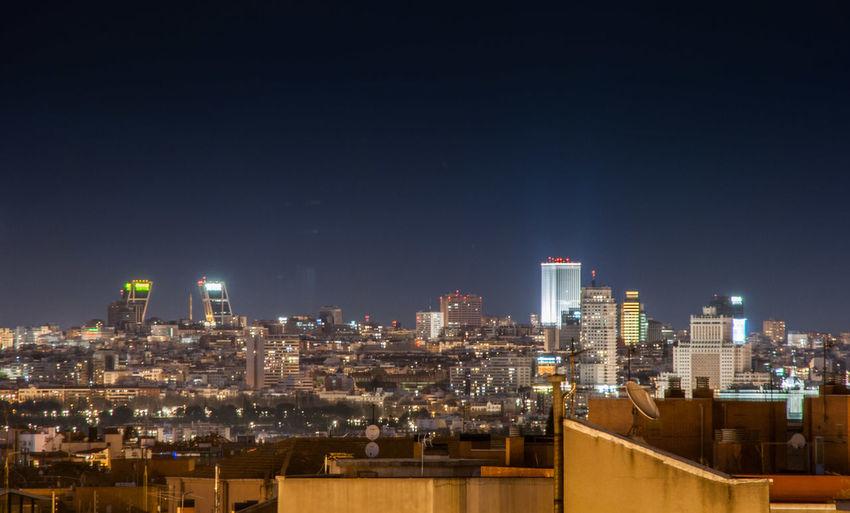 Madrid (Spain) Madrid SPAIN España Skyline Edificios Buildings Arquitectura Architecture Europa Europe Night Noche