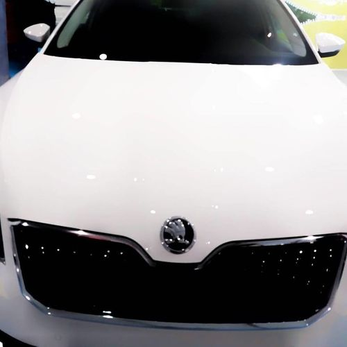 Car Cars Close-up Day Family Car No People Outdoors Skoda White