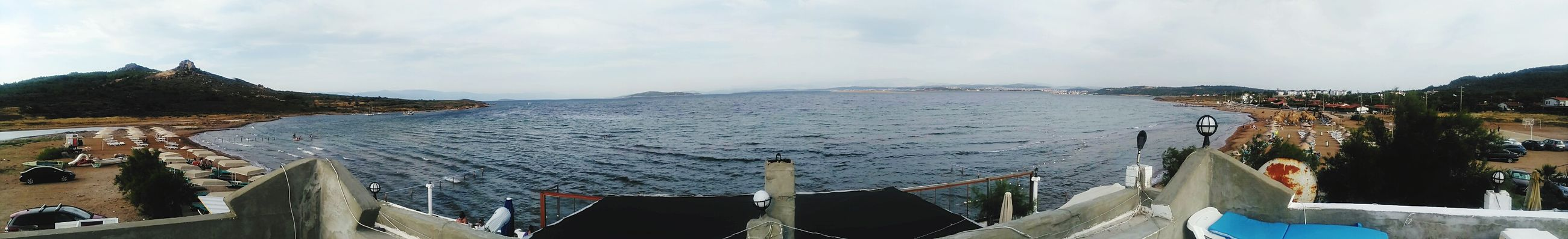 Accidents And Disasters Water Panoramic Sea Landscape Beach No People Outdoors Flood Day Sky Ayvalik 🐚🐳🐬🏊 Cunda Adası çataltepe Balıkesir Türkiye