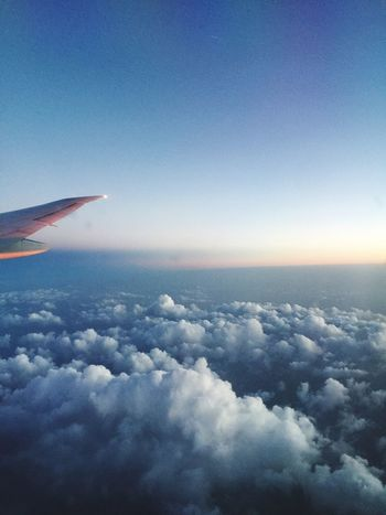 Sunset Over The Clouds Cloudscape Cloudsporn Aeroplaneviews Travel Photography Traveling Feel The Journey Original Experiences