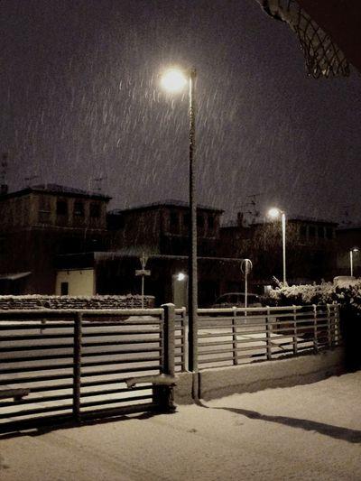Voici la neige!