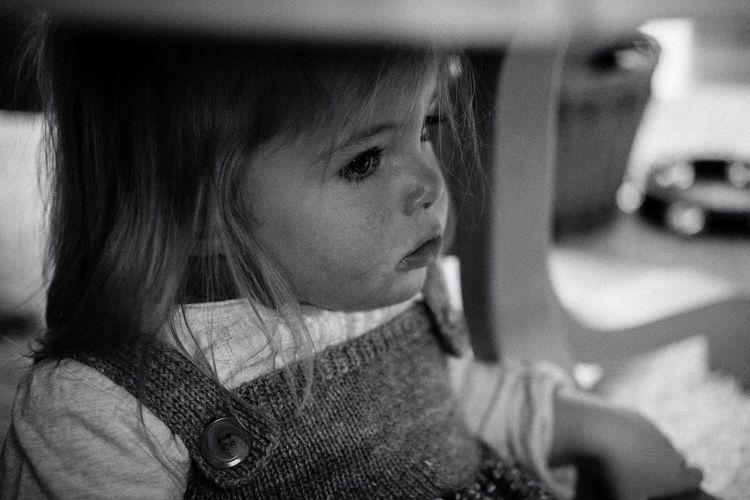 Child Indoors  One Girl Only Close-up First Eyeem Photo