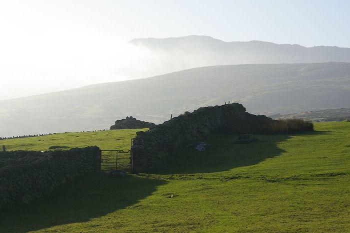 snowdonia, near Conwy . Mountain Fog Landscape Scenics Travel Destinations Tranquil Scene Mountain Range Non-urban Scene Rural Scene North Wales Beauty In Nature Landscape_photography