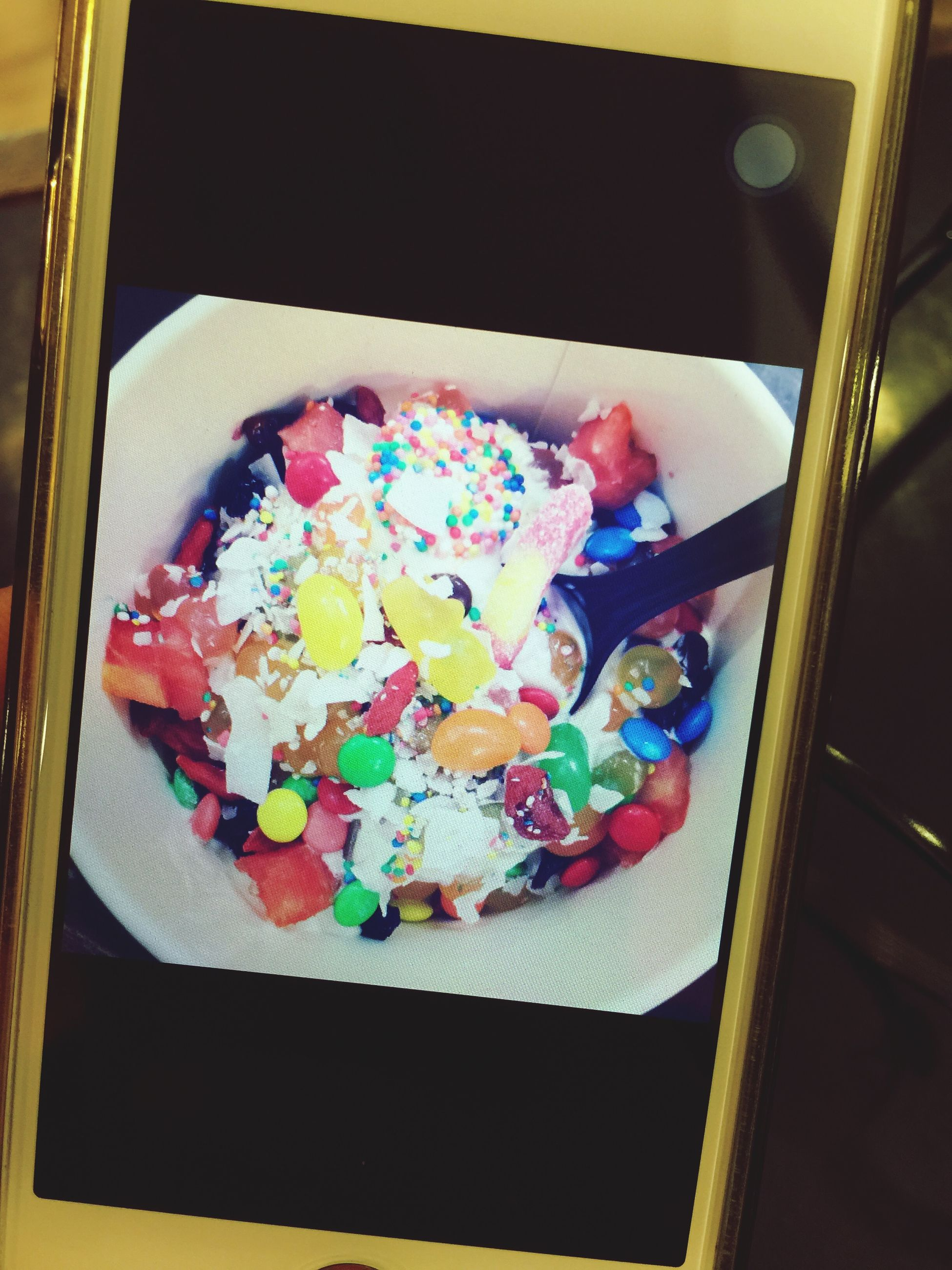 indoors, food and drink, sweet food, food, dessert, freshness, ready-to-eat, still life, indulgence, table, unhealthy eating, high angle view, plate, cake, temptation, multi colored, no people, close-up, serving size, decoration