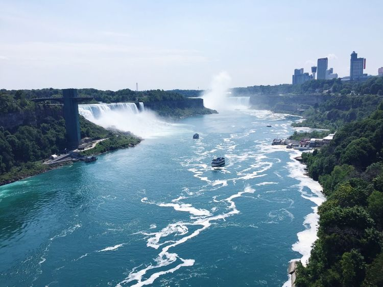 A Bird's Eye View Niagara Falls Beauty In Nature Nature Nature Photography