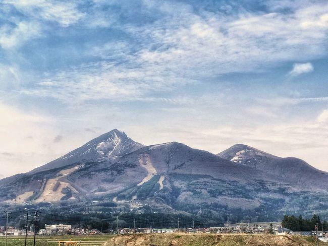 磐梯山 Mountain Cloud - Sky Sky Beauty In Nature Mountain Range Landscape Environment
