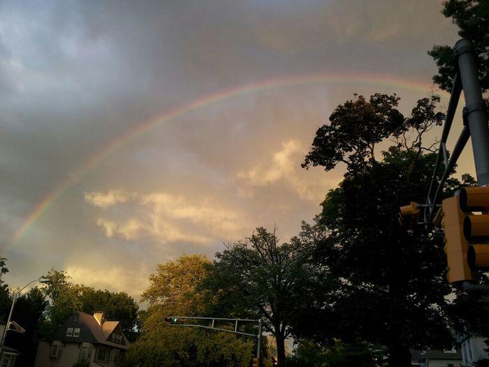 rainbow in east Orange