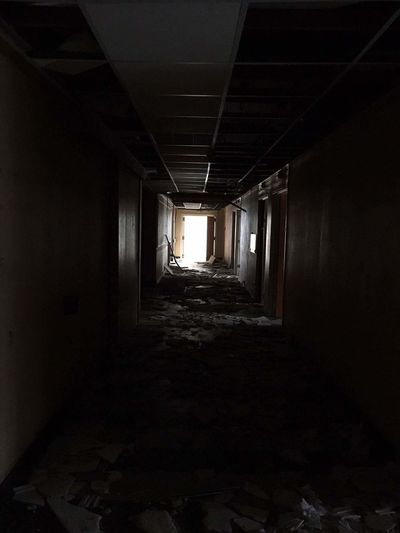 EyeEmNewHere Ancien Hôpital Civil Indoors  No People Ruined Building Couloir Sombre Sunday