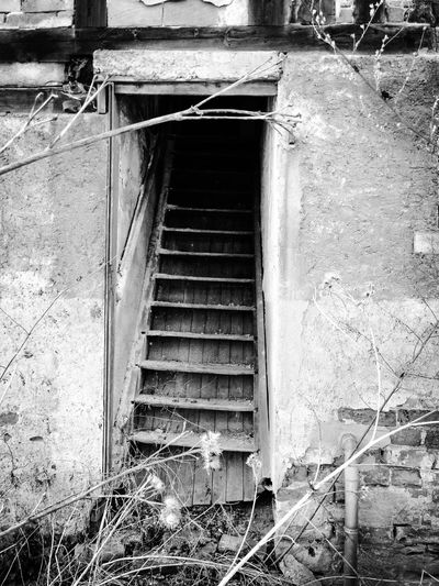 Damaged Abandoned Destruction Bad Condition House Steps Stairs Abandoned Buildings Abandoned Places