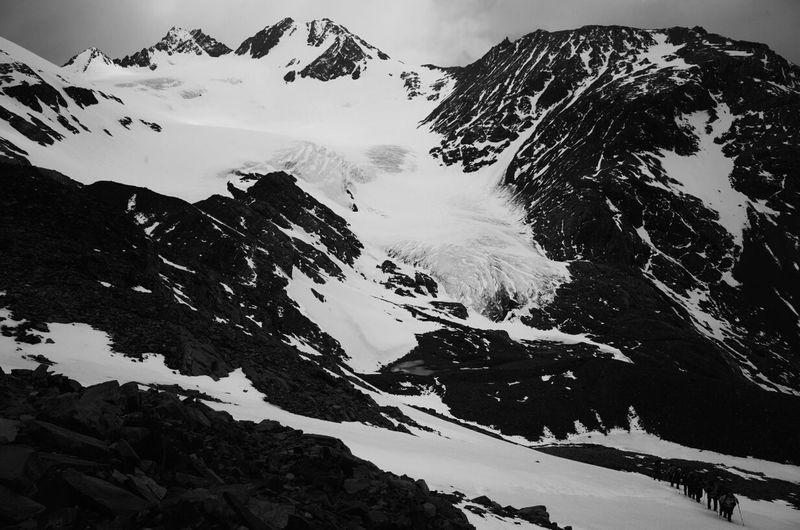 Climbing Paso John Garner, Torres del Paine, Patagonia. Patagonia The Environmentalist – 2014 EyeEm Awards The Explorer - 2014 EyeEm Awards