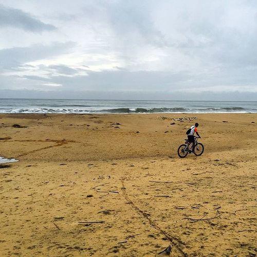 Beach Biking Serenity Rumblefwaves bheemli earlybird happy innerpeace myspot nofilter urbannomad vagabond vizag