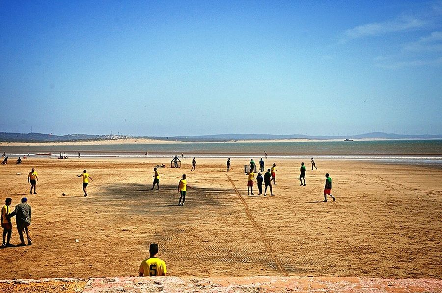 Football Fever Football Field Beachphotography Beach Life Improvise Football Pitch From Where I Stand Taking Photos Football Is Here Football Is Everywhere On The Beach Football Game Soccer Life Football Time  People Playing Football Having Fun Footballislife Sports Photography Sport In The City Football The Journey Is The Destination - Essaouira Morocco Africa Miles Away