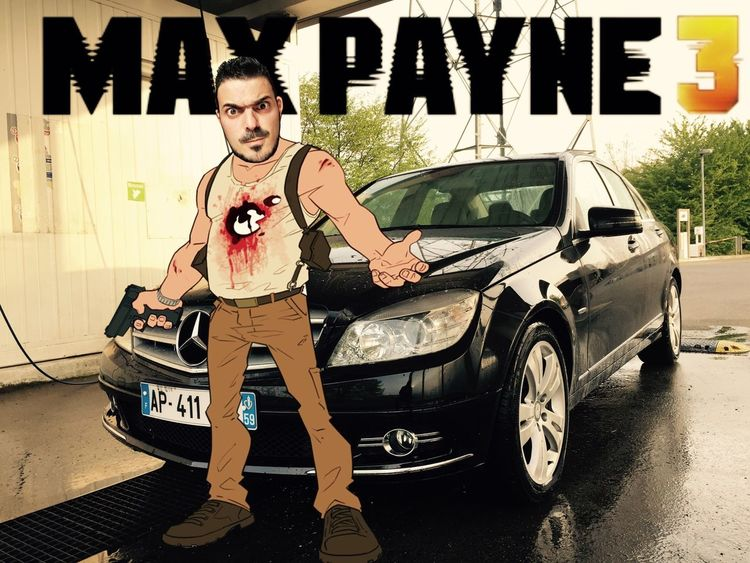 My Car Max Payne 3 Video Games Mercedes Montage Perso Montage