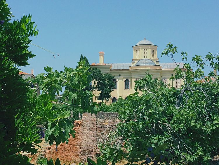 Ayvalik Cunda Taksiyarhis Church Oldiesbutgoldies Turkey Photooftheday Architecture Clear Sky Nature
