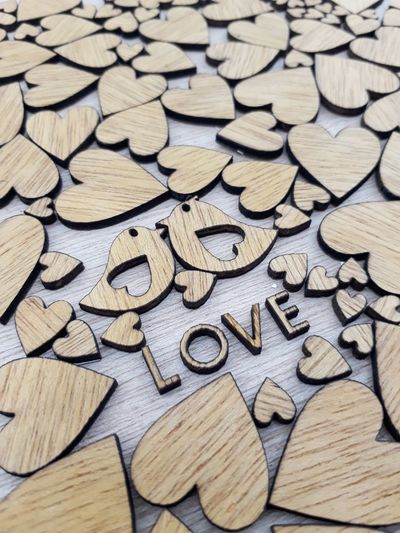 Wood - Material Full Frame Backgrounds Abundance No People Large Group Of Objects Textured  Pattern Close-up Studio Shot Lovepiece Love Woodword Woodpieces