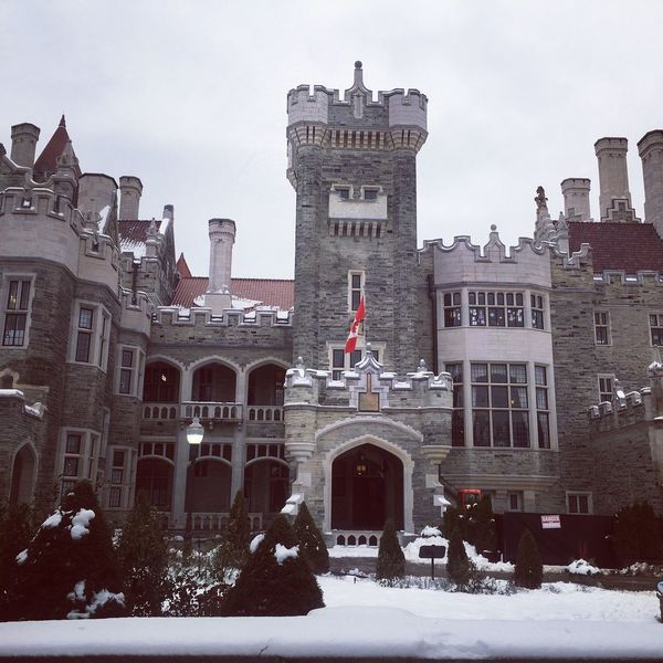 Casa Loma Snow Day