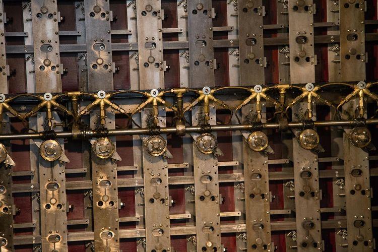 Full Frame Shot Of Locks