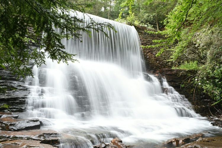 Stametz Dam, Hickory Run State Park, PA. Water Waterfall Waterfalls Nature Nature_collection Long Exposure Slow Shutter Nikon Photography The Purist (no Edit, No Filter)