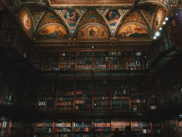 beautiful collections inside JP Morgan's library Iphoneonly IPhone 7 Plus IPhoneography