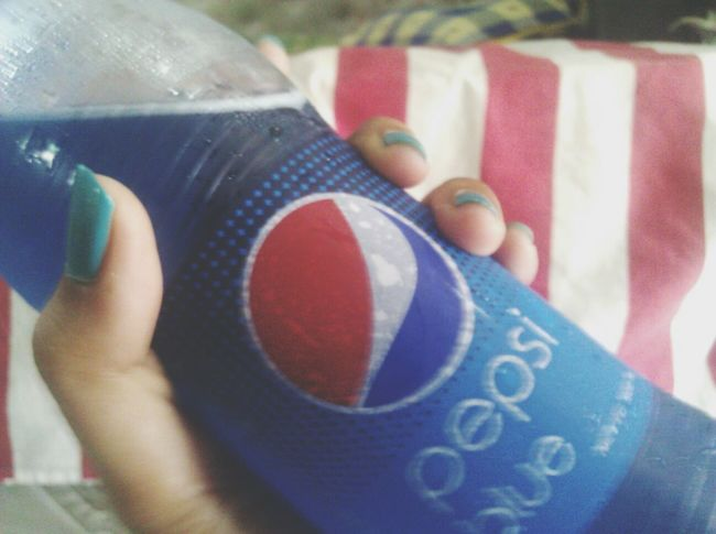 Softdrink Blue