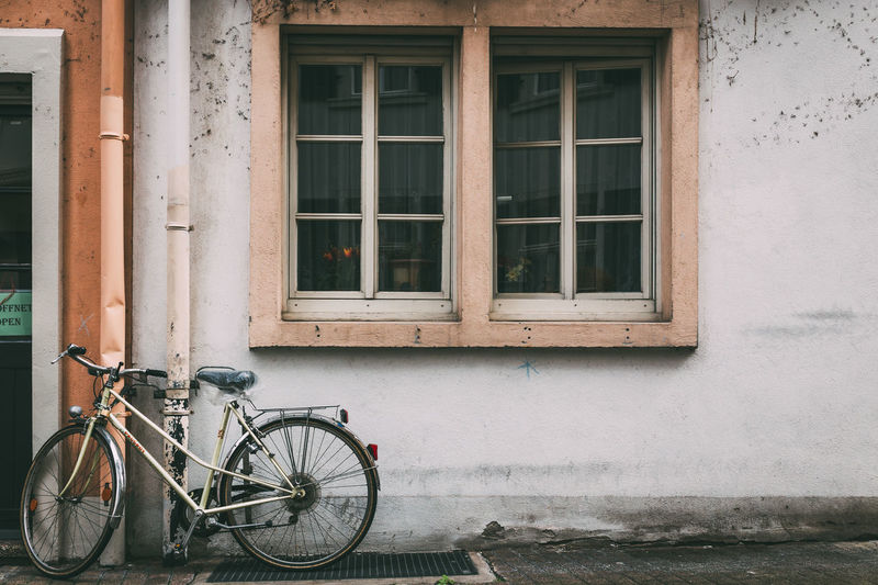 Urban Details Architecture Bicycle Building Exterior Built Structure City Day Land Vehicle Mode Of Transport No People Outdoors Stationary Tire Transportation Window
