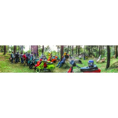 Bopscoot Panorama Vespalover Vespa Indonesia Bogor GnPancar Instapic MiPhone redmi1s snapseed PhotoGrid cc: @bopscoot