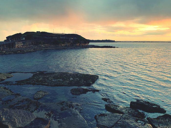La Perouse Sydney Rock Beach Sky Water Sunset Sea Cloud - Sky Scenics - Nature Beauty In Nature